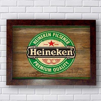 Quadro Heineken Premium Quality