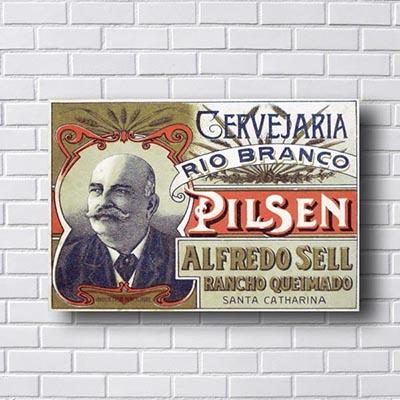 Quadro Vintage Alfredo Sell