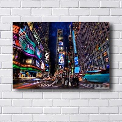Quadro New York Time Square