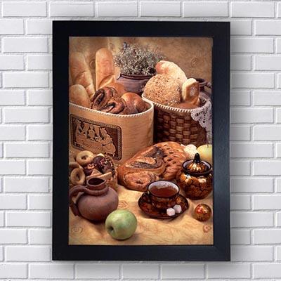 Quadros Decorativos Para Padaria Pães