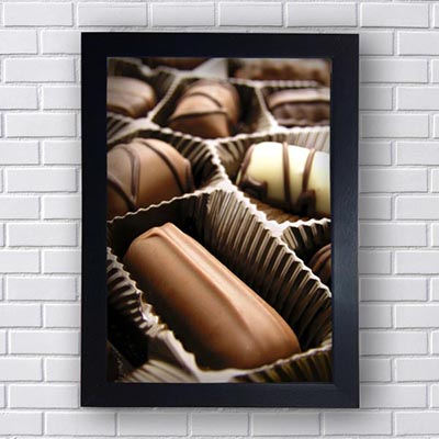 Quadrinhos Para Cozinha Chocolate