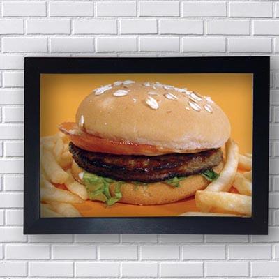 Quadros Decorativos Restaurantes Hamburger