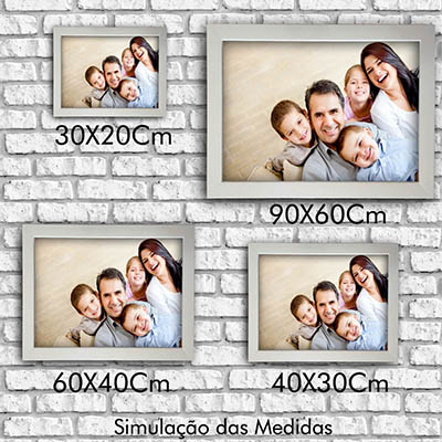 Quadro de Fotos Personalizado