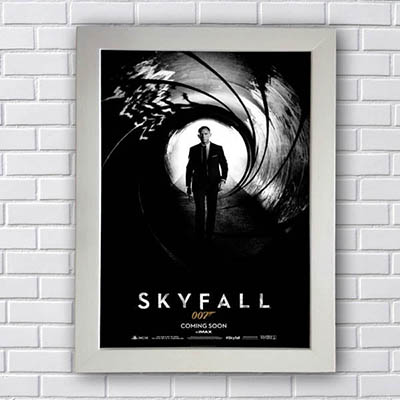 Quadro 007 Skyfall