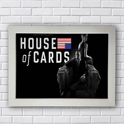 Quadro Decorativo House of Cards