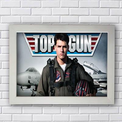 Quadro Decorativo Top Gun