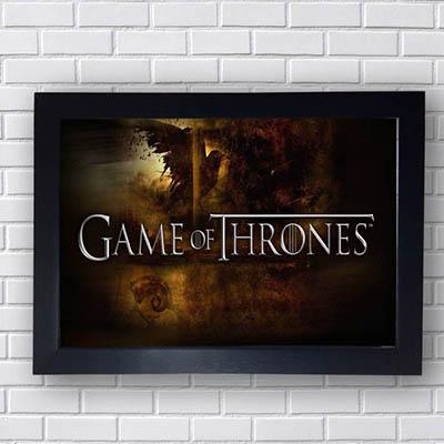 Quadro Game of Thrones Logo