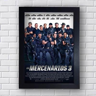 Quadro Os Mercenarios