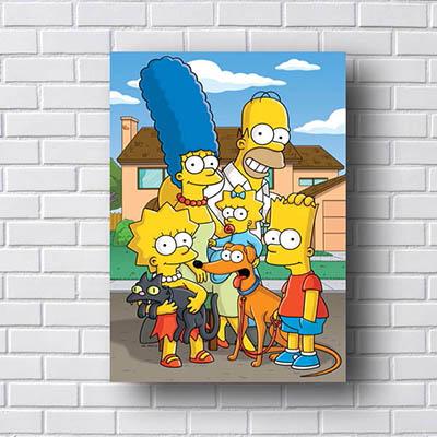 Quadro Os Simpsons