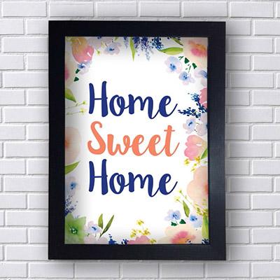 Quadro Decorativo Swet Home