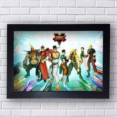 Quadro Decorativo Street Fighter