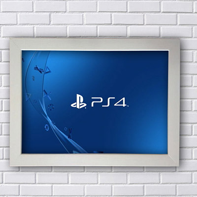 Quadro PS4 Play Station 4