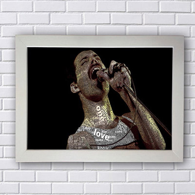 Quadro Freddie Mercury Queen