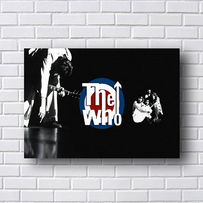 Quadro The Who Poster