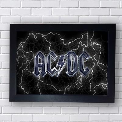 Quadro AC DC Logo