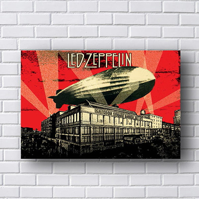 Quadro Led Zeppelin Madison Square