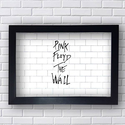 Quadro The Wall Pink Floyd