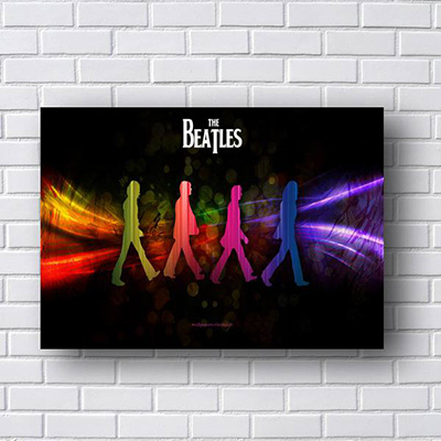 Quadro Beatles Abbey Road
