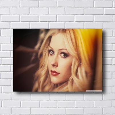 Quadro Poster Avril Lavigne