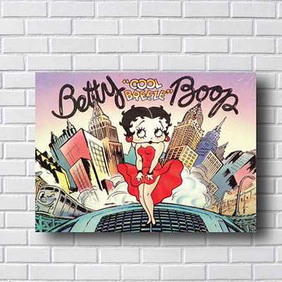 Quadro Decorativo Betty Boop