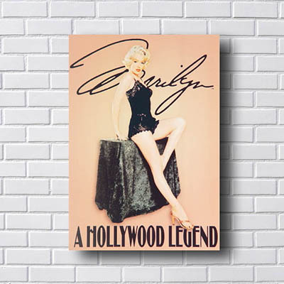 Quadro Decorativo Marilyn Hollywood