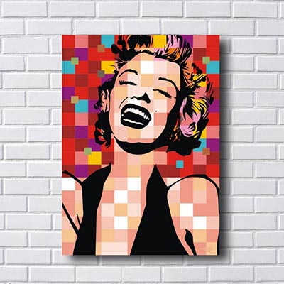 Quadro Pop Art Merilyn