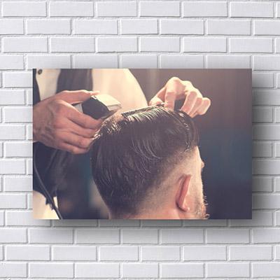Quadros Para Barbearia Corte