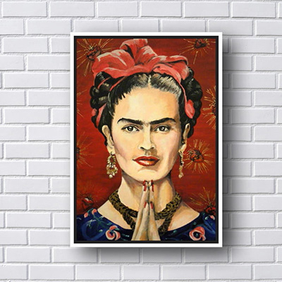 Quadro Decorativo Frida Kahlo