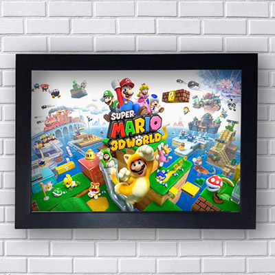 Quadro Super Mario World 3D