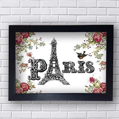 Quadro Paris Vintage