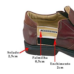 Sapatos para Aumento de Altura - 5313MI