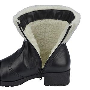 Botas Para Neve Forradas com Lã Sintética - 21018nGI