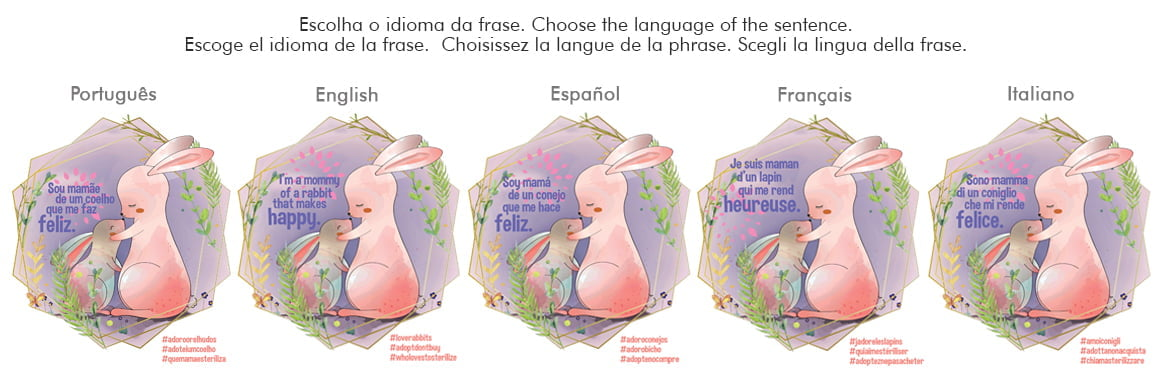 Escolha seu idioma. Choose your language.  Seleccione su idioma. Choisissez votre langue. Scegli la tua lingua.