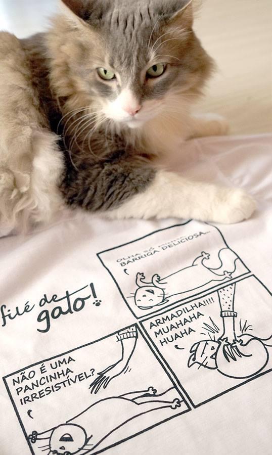 Filé de Gato | Camiseta Armadilha de Gato