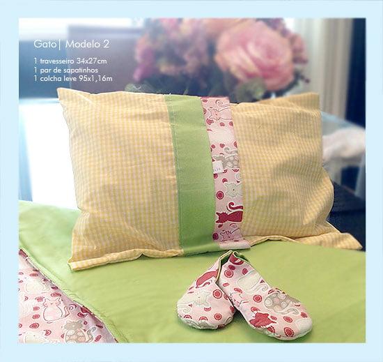 Manta e Travesseiro Para Bebê