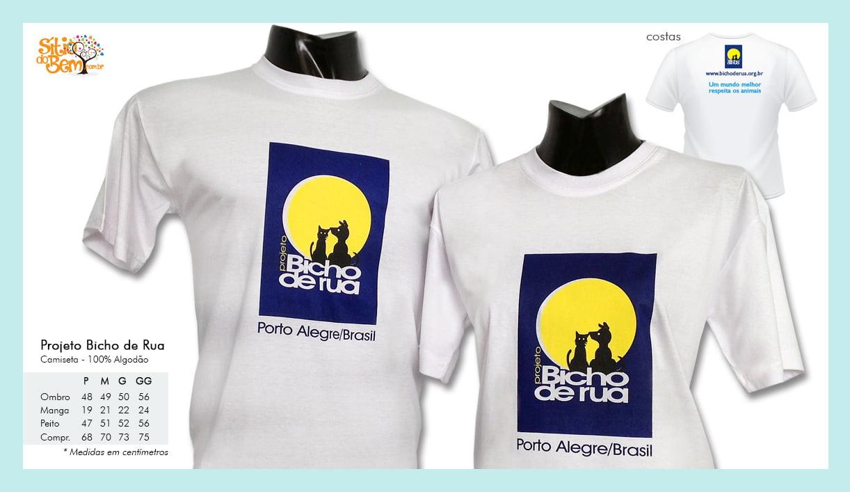 Camiseta logotipo Bicho de Rua