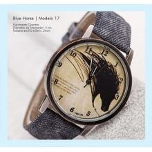 Relógios de Pulso Masculino com Desenho de Cavalo