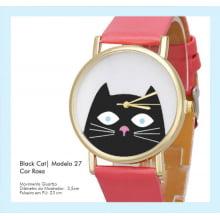 Relógio de Pulso Feminino Black Cat