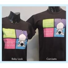 Camiseta Perdoar é Canino