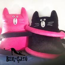 Almofadas Formato Gato