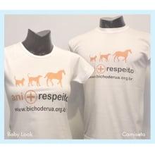 Camiseta Ani+ Respeito