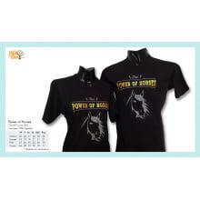 Camiseta com Desenho de Cavalo Power of Horses