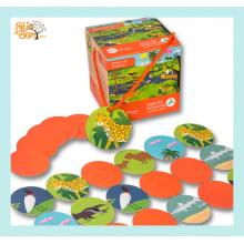 Jogo de Memória Infantil Bichos do Pantanal