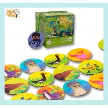 Jogo de Memória Infantil Floresta Amazônica