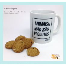 Caneca Desenho Vegano | Animais Não São Produtos