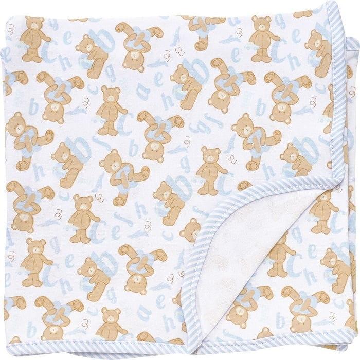Cueiro em suedine ABC dos ursos