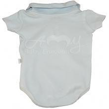 Conjunto body polo manga curta baby blue - M