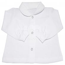 Pijama infantil poá branco