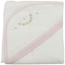 Enxoval bordado encanto rosa - 5 peças