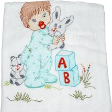 Presente para recem nascido menino fofinho - 6 peças